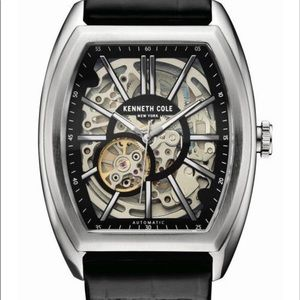 Mens Kenneth Cole Automatic Leather Watch ⌚️